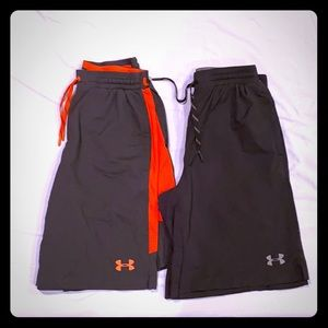 (2) Pairs of Under Armour Athletic Shorts